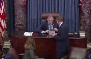Senate unanimously passes $2 trln relief bill [Video]