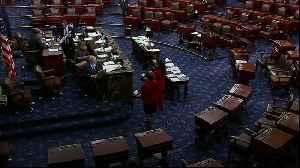 News video: US Senate passes 2.2 trillion dollar aid package to fight coronavirus