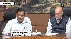 CM Kejriwal issues helpline number amid lockdown [Video]