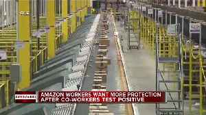 Amazon workers want more protection after co-workers test positive [Video]