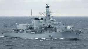 News video: Royal Navy shadows Russian War Ships