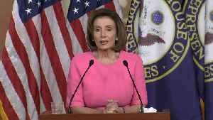 Raw Video: House Speaker Nancy Pelosi Remarks On Coronavirus Economic Relief Bill [Video]