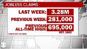 WEB EXTRA: Record Breaking Jobless Claims [Video]
