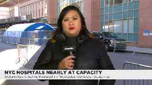 News video: NYC Hospitals Nearly At Capacity
