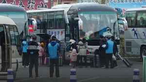 Hundreds arrive in Beijing as Hubei lockdown lifts [Video]