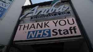 News video: Buildings across the UK to #LightItBlue for NHS staff