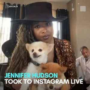 Jennifer Hudson introduces the world to her dogs on Instagram Live [Video]