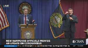 Coronavirus Stay-At-Home Order Issued By New Hampshire Governor [Video]