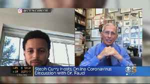 Steph Curry Hosts Coronavirus Instagram Town Hall With Dr. Andrew Fauci [Video]