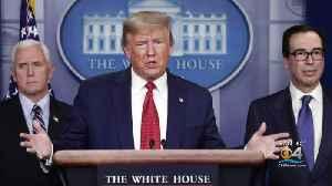President Trump Praises Senate's Passage Of Stimulus Package [Video]
