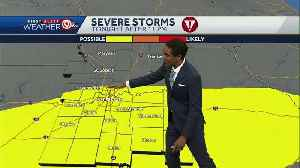 First round of storms to move in late Thursday [Video]