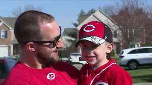 Reds Opening Day parade wasn't canceled for this 4-year-old fan [Video]