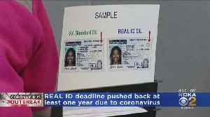 News video: REAL ID Deadline Pushed Back At Least 1 Year