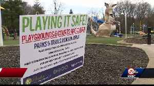KC area playgrounds still busy during stay-at-home order [Video]