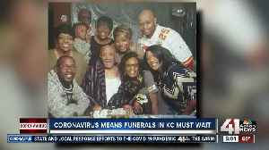 COVID-19 forces KC family to cancel World War II vet's funeral celebration [Video]