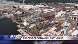 Second Ingalls Shipbuilding employee positive for COVID-19 [Video]
