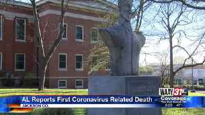 News video: Alabama Reports First Coronavirus Related Death