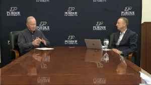 Gold and Black LIVE March 26 Segment 1: Alan Karpick and Purdue President Mitch Daniels [Video]