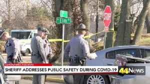 Hopkins County sheriff address Public safety during COVID-19 outbreak [Video]