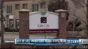 Gift of Life Transplant House Stays Open [Video]