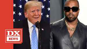 Kanye West Reaffirms His Allegiance To Donald Trump- 'I'm A Black Guy With A Red [MAGA] Hat' [Video]