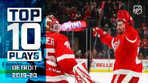Top 10 Red Wings Plays ... Thus Far [Video]