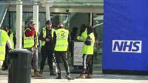 Work begins to get NHS Nightingale Hospital open [Video]