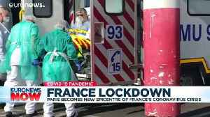 Paris hospital fears being overwhelmed as COVID-19 cases increase [Video]