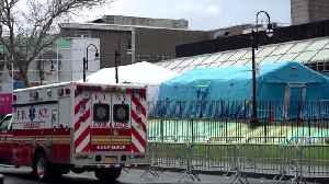 NY, New Orleans hospitals reel as U.S. virus deaths top 1,000 [Video]