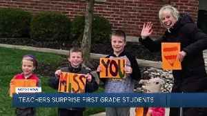 Acts of Kindess: Teachers missing their students throw surprise parade [Video]