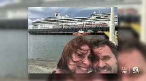 Florida couple stuck on cruise ship bound for Fort Lauderdale with dozens of sick passengers [Video]