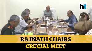 COVID-19: Rajnath Singh chairs review meet; NDRF ready to tackle situation [Video]