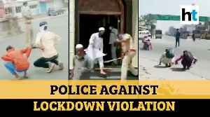 News video: COVID-19 | Men exiting mosque thrashed by cop for violating lockdown order