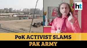 'Pakistan army sending COVID-19 patients to PoK': Activist Amjad Mirza [Video]