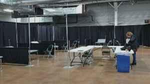 Coronavirus In Colorado: Health Officials Prepare Larimer Fairgrounds For Use As Temporary Hospital [Video]