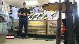 Gun shops experiencing a surge in sales [Video]