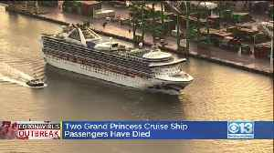 News video: Two Grand Princess Cruise Ship Passengers Have Died