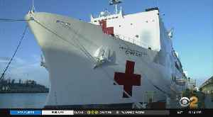 News video: Coronavirus Update: Supplies Being Loaded Onto U.S. Navy Ship Bound For NYC