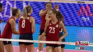 Former Husker Kelsey Robinson hopeful despite Olympic postponement [Video]