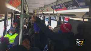 News video: Union Says Social Distancing Is Not Happening On CTA