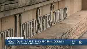 How COVID-19 is impacting federal courts [Video]