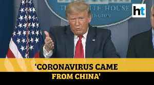 COVID-19 | 'China said our soldiers brought the virus…': Donald Trump on virus' origin [Video]