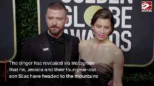 Justin Timberlake and Jessica Biel escape to the mountains amid pandemic [Video]