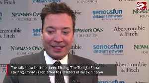 News video: Jimmy Fallon: Filming talk show from home is 'chaos'