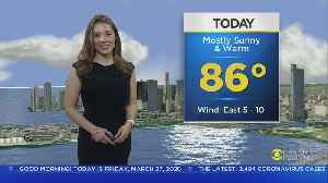 Your CBS4 Forecast For Friday 3/27 [Video]