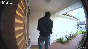 Attempted Break-In Foiled by Security Cameras [Video]