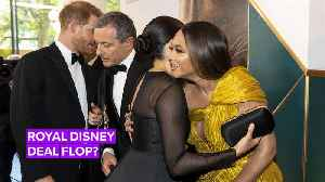 Here's why Meghan Markle isn't getting paid for Disney movie [Video]