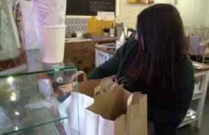 London cafe owner rushes to help health service