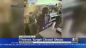News video: Thieves Party In Half Moon Bay Restaurant Closed During Coronavirus Shelter-In-Place