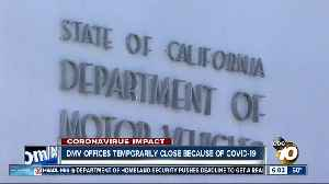 DMV field offices closing due to outbreak [Video]